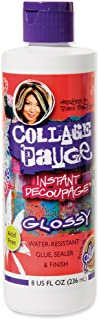 Aleene's Collage Pauge Instant Decoupage Medium, 8oz Gloss