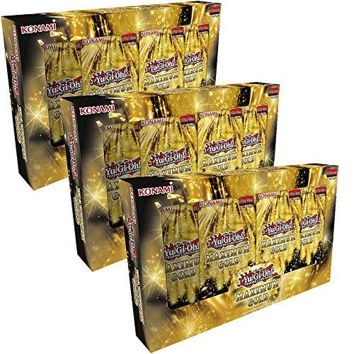 Cards YuGiOh Maximum Gold - Tuck Boxen (3 Boxen)