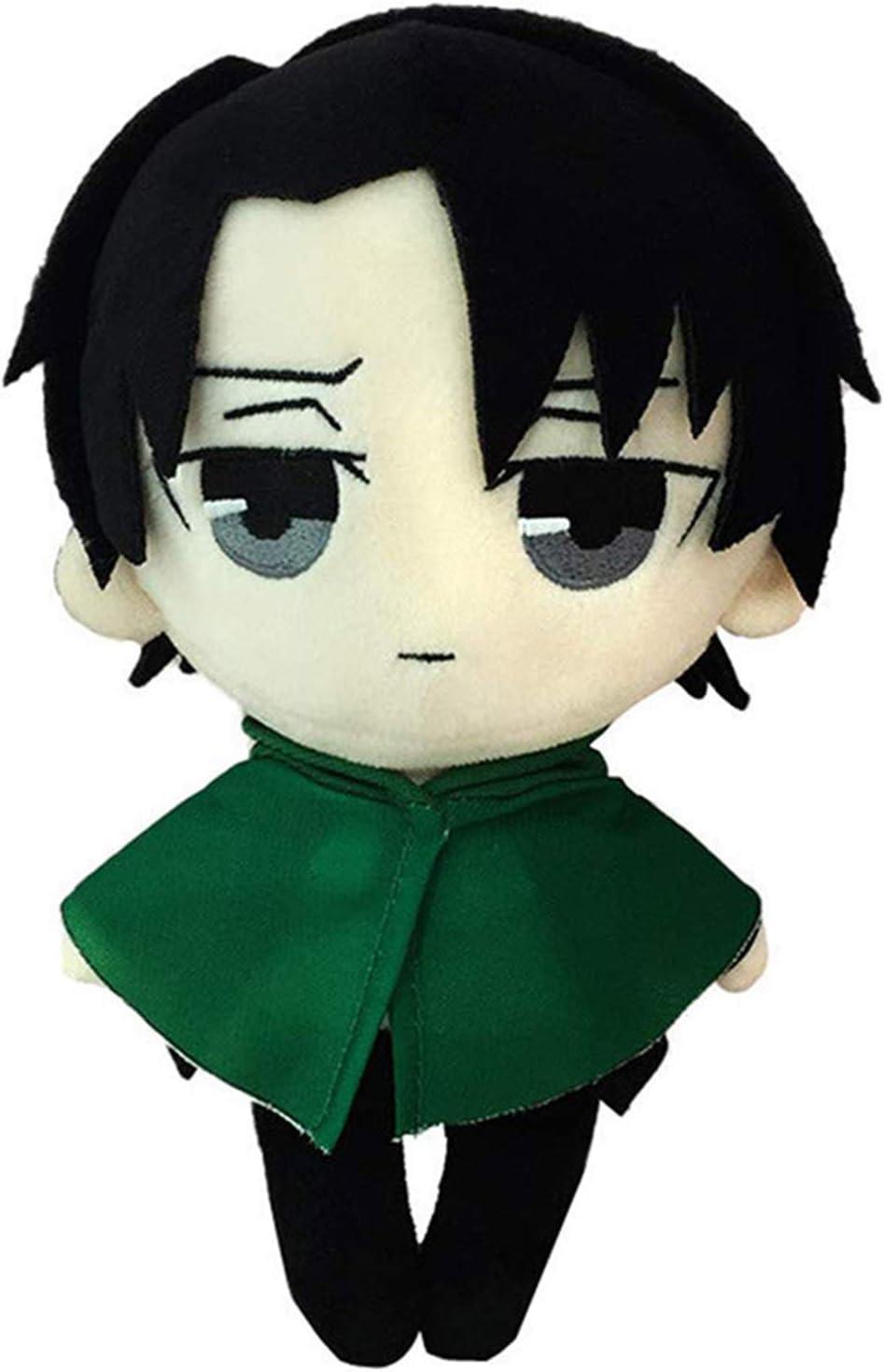Wasoie Levi Financial sales sale Ackerman Plush Figure In a popularity Anime Cartoon Doll Toy Stuffed