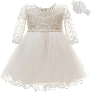 Baby Girls Dresses Christening Baptism Gowns Wedding Birthday Formal Dress