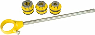 Steel Dragon Tools 1/2in. 3/4in. 1in. 12-R Ratchet Threader Kit compatible with RIDGID 12R Dies