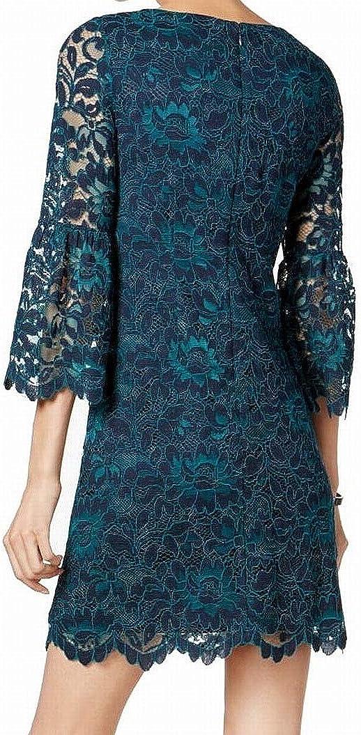 Jessica Howard Women's Bell-Sleeve Lace Dress