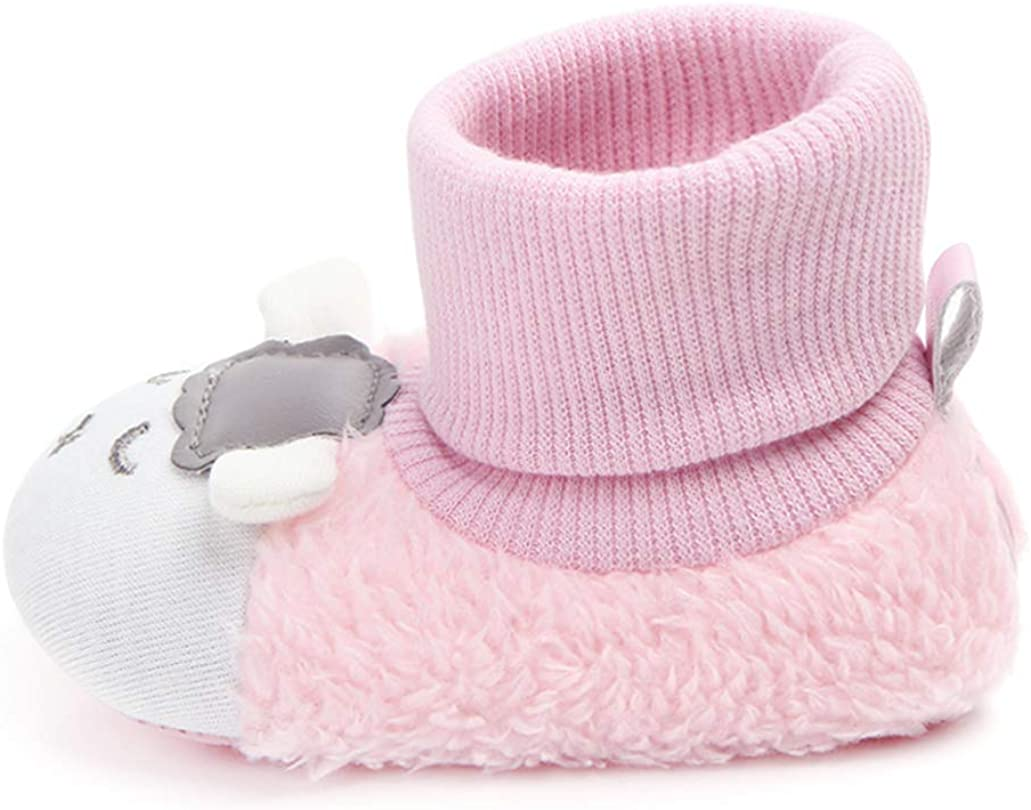 LOUECHY Baby Booties Warm Toddler Boots Cozy Infant Crib Booties for Baby Girls /& Baby Boys