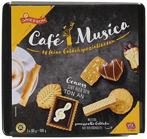 Griesson Gebäckmischung Café Musica gold, 1000 g