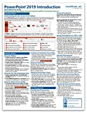 Microsoft PowerPoint 2019 Introduction Quick Reference Training Tutorial Guide (Cheat Sheet of Instructions, Tips & Shortcuts - Laminated Card)