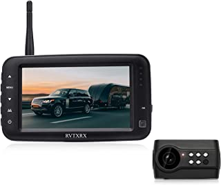 $119 » Wireless Backup Camera,4.3 Inch Monitor with License Plate Reverse Camera, Infrared Night Vision and Viewing Angle-PY-3412...