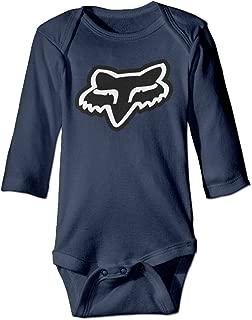 Fox Racing Logo Baby Boy Girls Infant Casual Romper