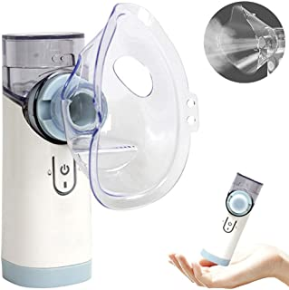 Portable Mini Vaporizers, Steam Inhaler, Cool Mist Handheld Travel Steam Compressor Machine Humidifier for Adults & Kids