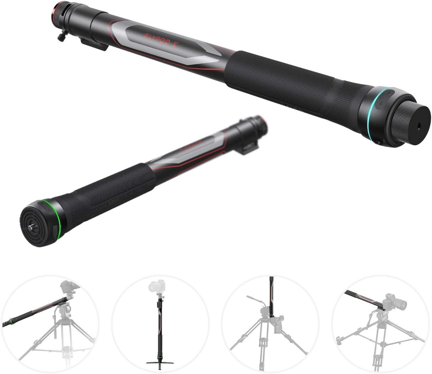MOZA Slypod E Monopod Motorizado Reinvent Motion Slider Control de velocidad y posición precisos Carga útil vertical de 40 libras para cámara DSLR / SLR Estabilizador de cardán con trípode