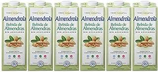 comprar comparacion Almendrola - Bebida Vegetal de Almendras Sin Azúcar - Caja de 6 x 1L