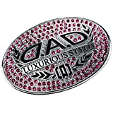 ギャルソン DAD ラグジュアリー ステアリング ブローチ ハンドルカバー フューシャ D.A.D SA979-07