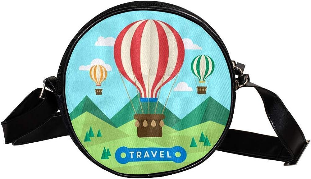 Coin Purse For quality assurance Kids Travel Hot Bag Mini Air Balloon Crossbody Long Beach Mall Gi