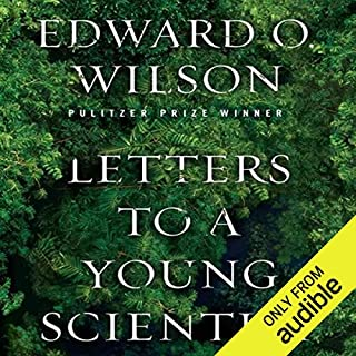 Letters to a Young Scientist audiobook cover art