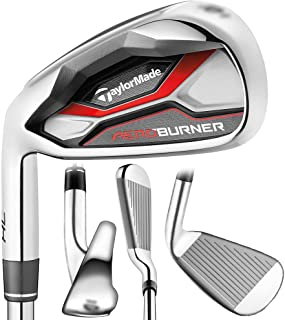 TaylorMade Golf- LH AEROBURNER HL Irons 4-PW/AW Regular Flex (Left Handed)