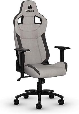 CORSAIR T3 Rush Gaming Chair Comfort Design, Gray/Charcoal