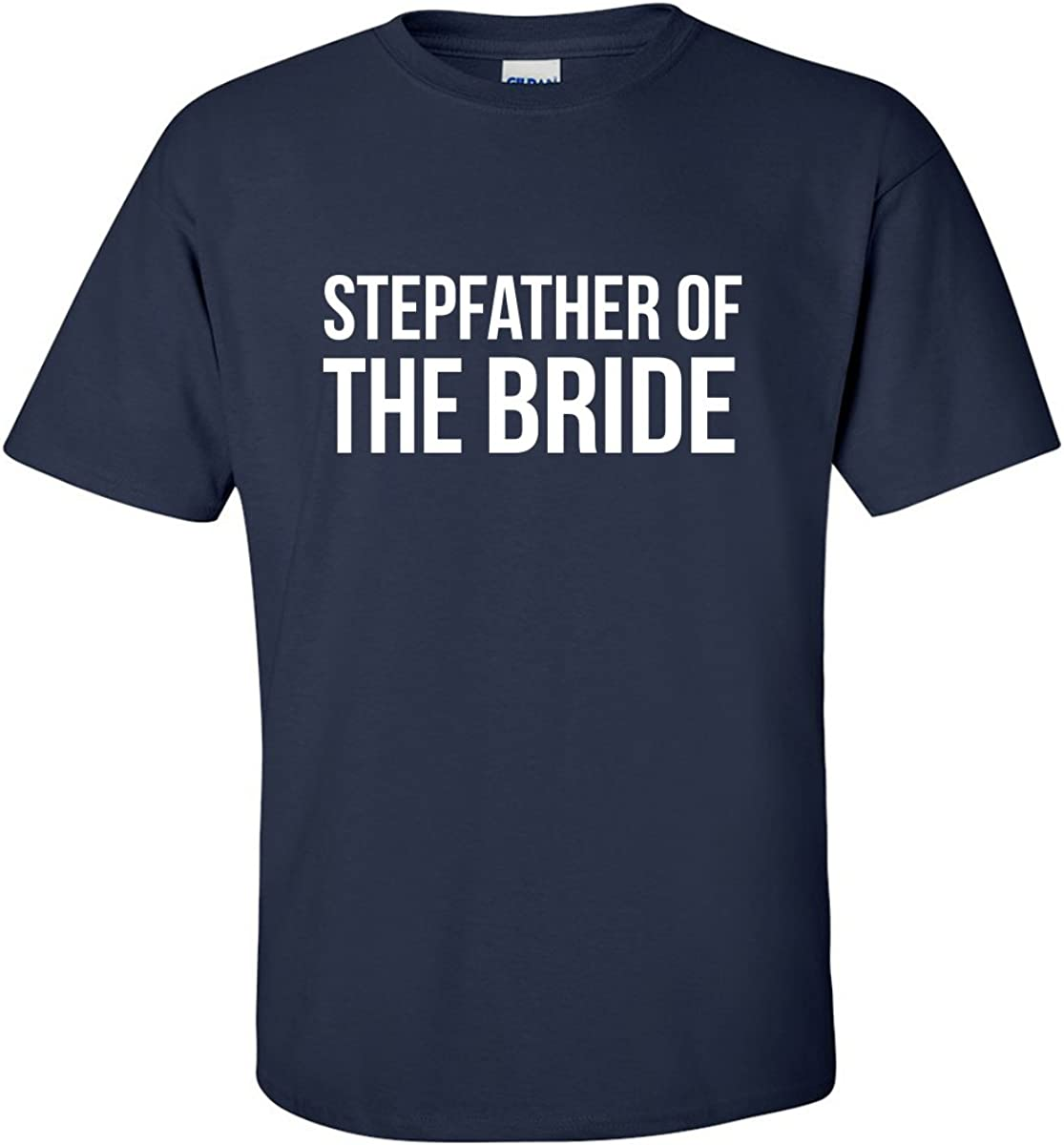 zerogravitee Stepfather of The Bride Adult Short Sleeve T-Shirt in 3 Colors