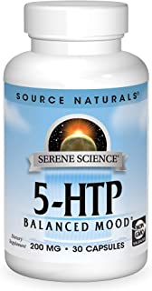 SOURCE NATURALS Serene Science 5-HTP 200 Mg Capsule, 30 Count