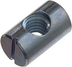 Barrel groef voor meubel- bout met gleuf M6 x 14 lange Zp (verpakking van 10)