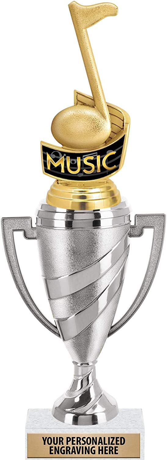 Crown Awards Music Note Trophy Trophies Cup 13