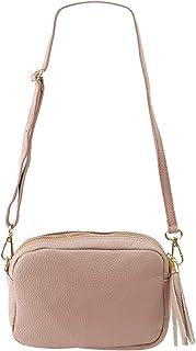 Freyday Echtleder Umhängetasche Clutch kleine Tasche Abendtasche 20x15cm