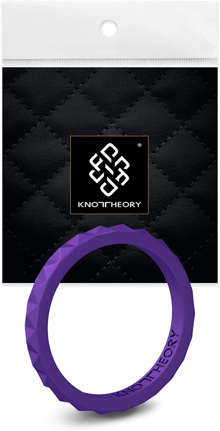 Knot Theory Stackable Silicone Max 59% OFF Wedding Rings for – In stock Th Women
