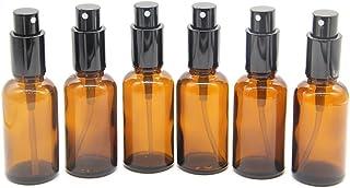 Yizhao Ambar Pulverizador Cristal 30ml Glass Spray Bottles con [Atomizador]para Aceites Esenciales Mezclas de Aromatera...