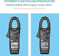 Nishore Alicate Amperímetro Digital 600A Corrente AC 600V Corrente AC/DC Dados de Medição de Capacitância Manter Backlight...
