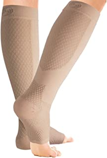 OrthoSleeve FS6+ Compression Foot and Calf Sleeve (Pair)