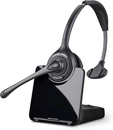 $172 » Plantronics CS510 - Over-the-Head monaural Wireless Headset System – DECT 6.0