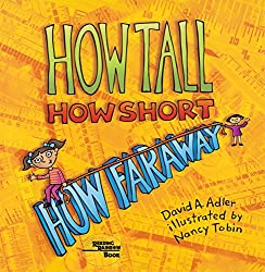 how tall how short how faraway - book about measuring