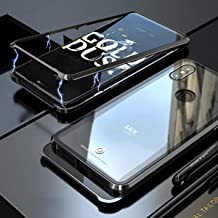 Xiaomi Mi Mix 3 Case, UBERANT Metal Frame & Tempered Glass Back 2 in 1 Ultra-Thin Clear Luxury Scratch Resistant Shockproo...
