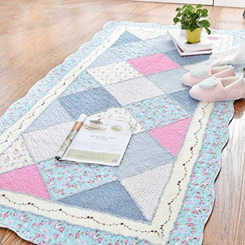Rug ZI LING Shop- tapijt, bekleed, low-Pile Home anti-slip tapijt slaapkamer rechthoekig nachttapijt kinderen kruipmat