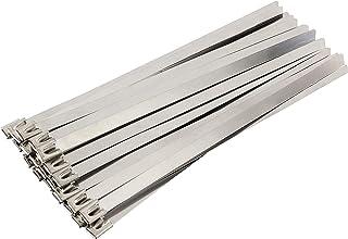 ステンレス製 耐食性 耐酸性 耐高温 タイラップ インシュロック 結束バンド (4.6mm×300mm(30本セット)