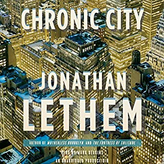 Chronic City audiobook cover art