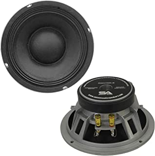 Seismic Audio Richter-8-Pair Pair of 8-Inch Raw Woofers Speaker Drivers Pro Audio PA DJ Replacements - 175-Watt RMS