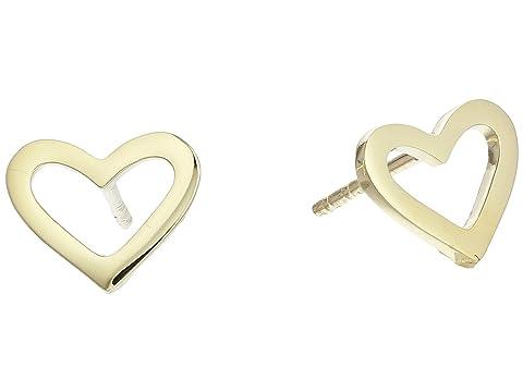 Roberto Coin Open Heart Stud Earrings - Tiny Treasures