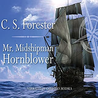 Mr. Midshipman Hornblower audiobook cover art