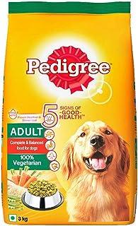 Pedigree Adult Dry Dog Food Food, Vegetarian, 3kg Pack