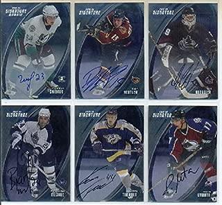 2002-03 BAP Signature Series Autographs #34 Kimmo Timonen Autograph Card - Predators