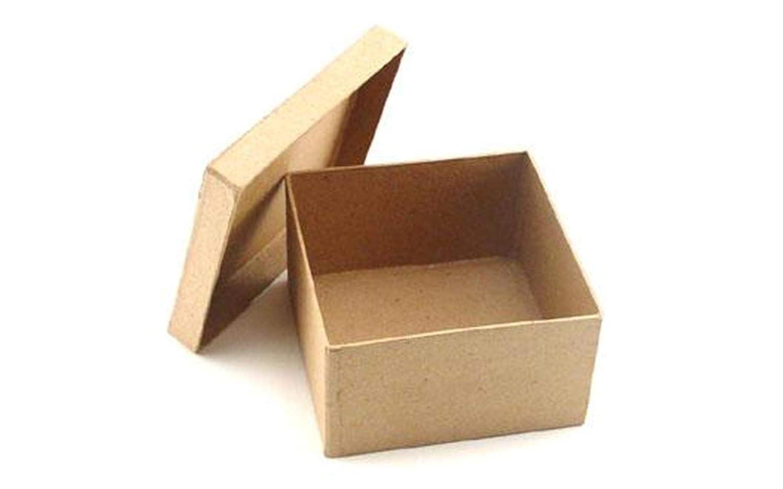 Craft Pedlars Craft Ped Paper Mache Box 4.5
