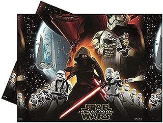 Unique Party 72195 - Plastic Star Wars 7 Tablecloth, 1.8m x 1.2m