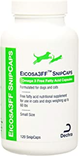 Dechra Eicosa3FF SnipCaps for Cats and Small Dogs Under 60 lbs 120 Count