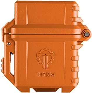 Thyrm PyroVault Lighter Armor, Compatible with Zippo Inserts (Rescue Orange)