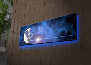 Amazon com: lighted canvas wall art