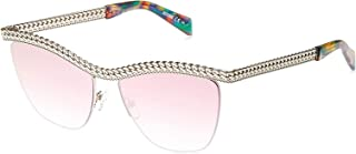 Moschino Clubmaster Sunglasses for Women - Pink Lens, MOS010/S PSXVQ