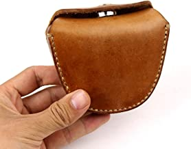 Handmade Genuine Leather Ammo Pouch Storage Bag for Slingshot Balls