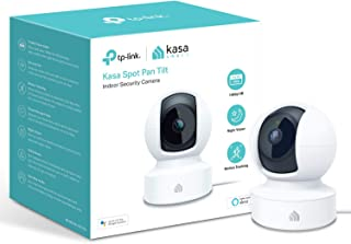 tp-link Kasa Smart Security Camera by Baby Monitor, 360° rotational Views, No Hub Required, Works with Alexa (Echo Spot/Sh...