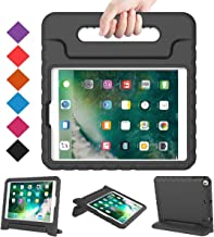 BMOUO Case for New iPad 9.7 Inch 2018/2017 - Shockproof Case Light Weight Kids Case Cover Handle Stand Case for iPad 9.7 Inch 2017/2018 Previous Model - Black