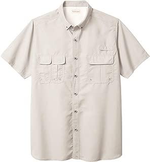 Boulder Creek Men's Big & Tall Off-Shore Short-Sleeve Sport Shirt