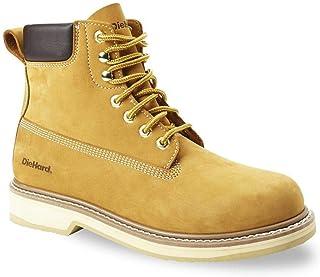 DieHard Men's Soft Toe Nubuck Leather Work Boots - Wheat,...